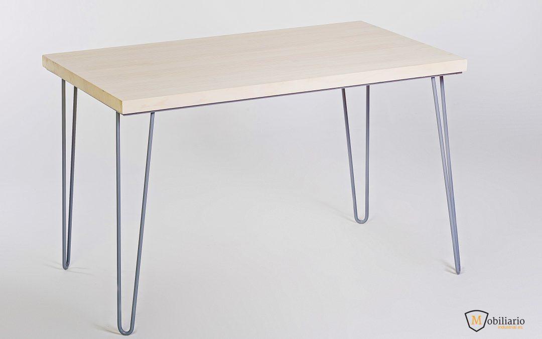 ¿Cómo fabricar una mesa de Estilo Industrial por menos de 150 €?