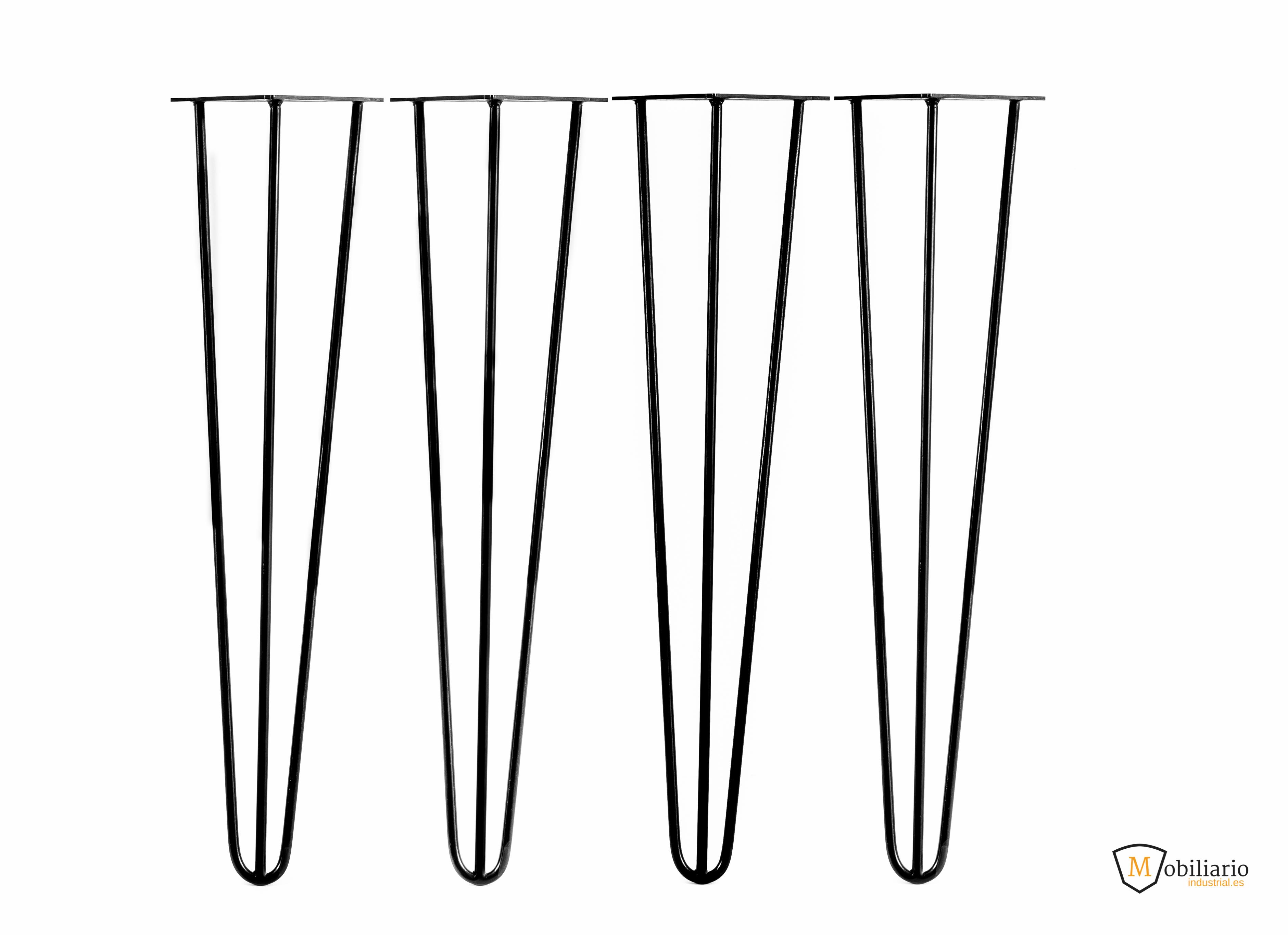 fabricar una mesa con hairpin legs
