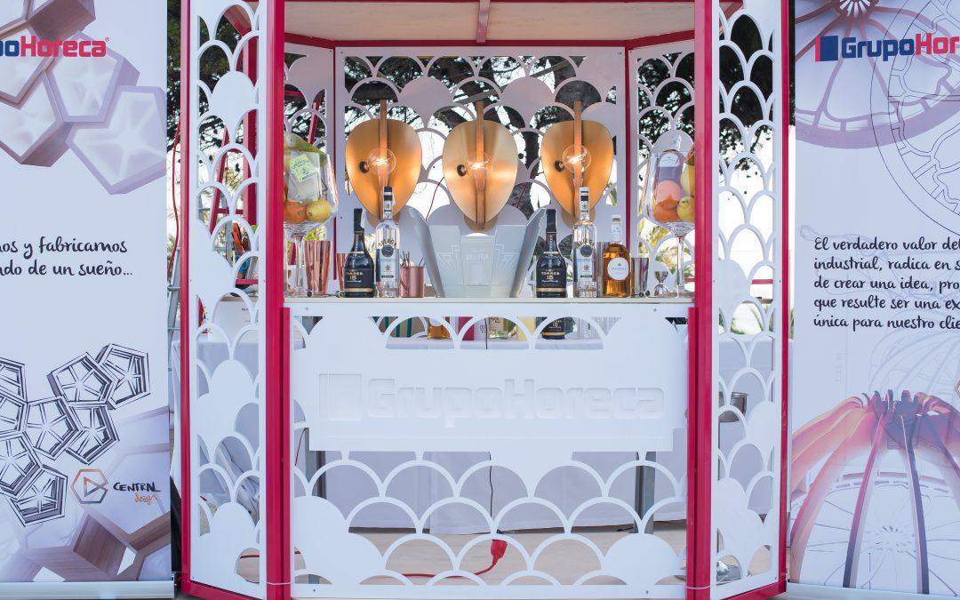 Un Stand de Diseño para un evento de lujo en Marbella