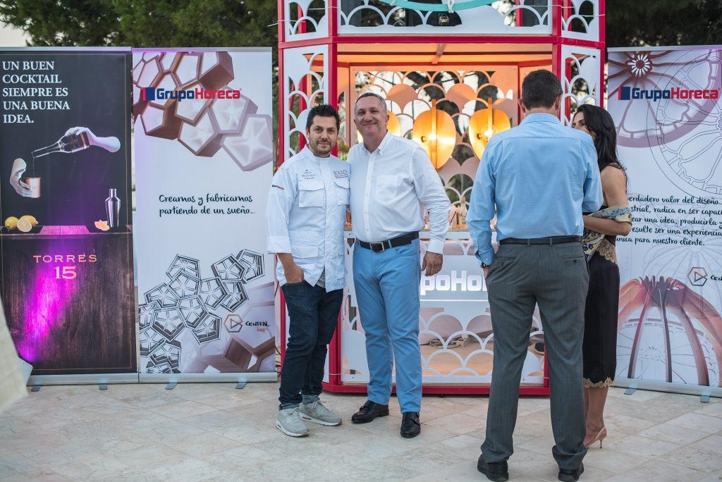 Diego Gallegos, El rey del caviar junto a Santiago, Gerente de Grupo Horeca