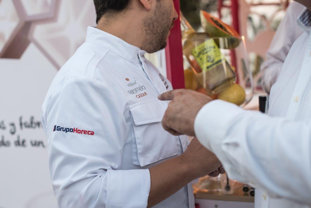 Cocinero Diego Gállegos