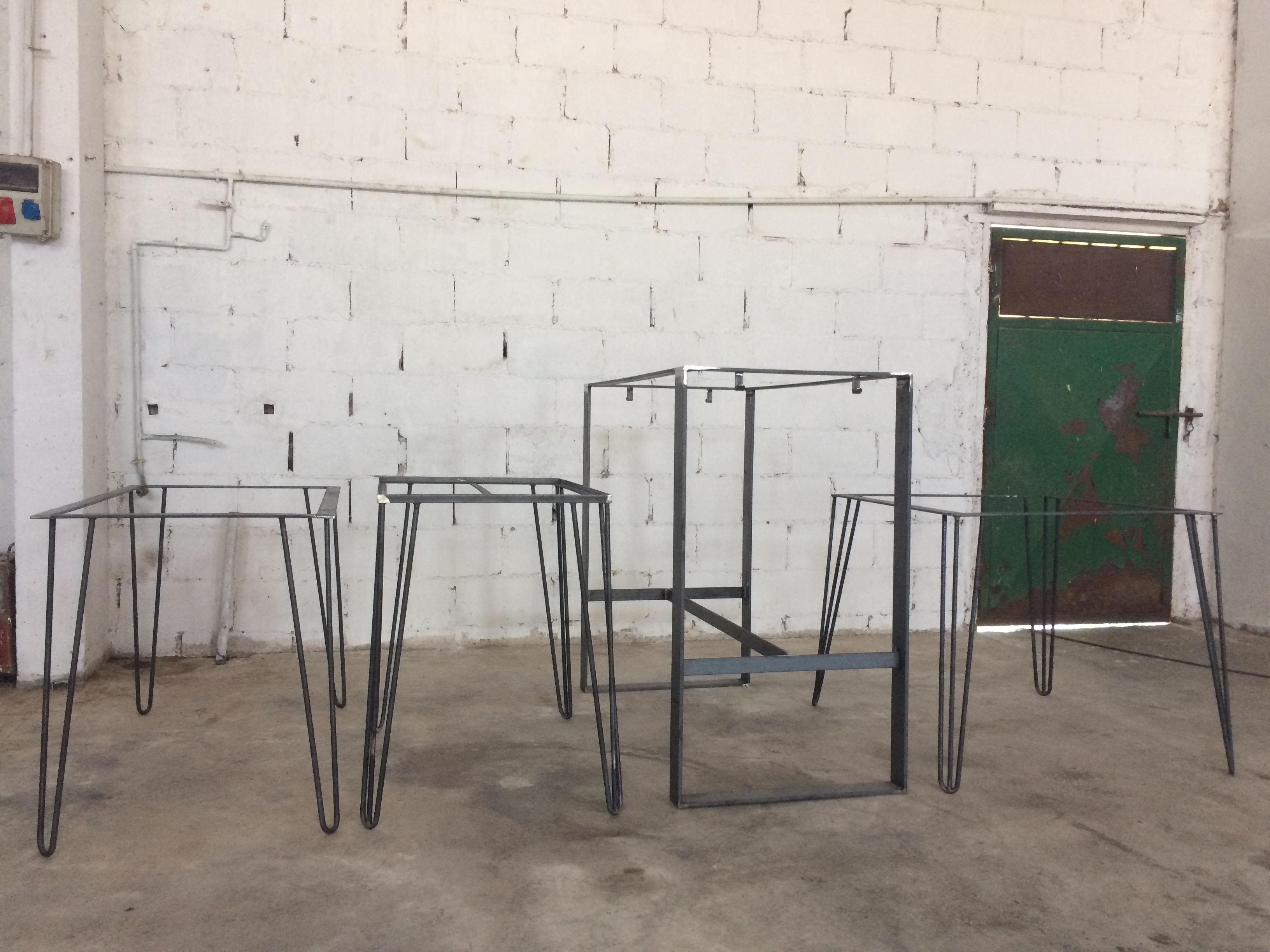 Patas robustas en diferentes modelos Mobiliario Industrial