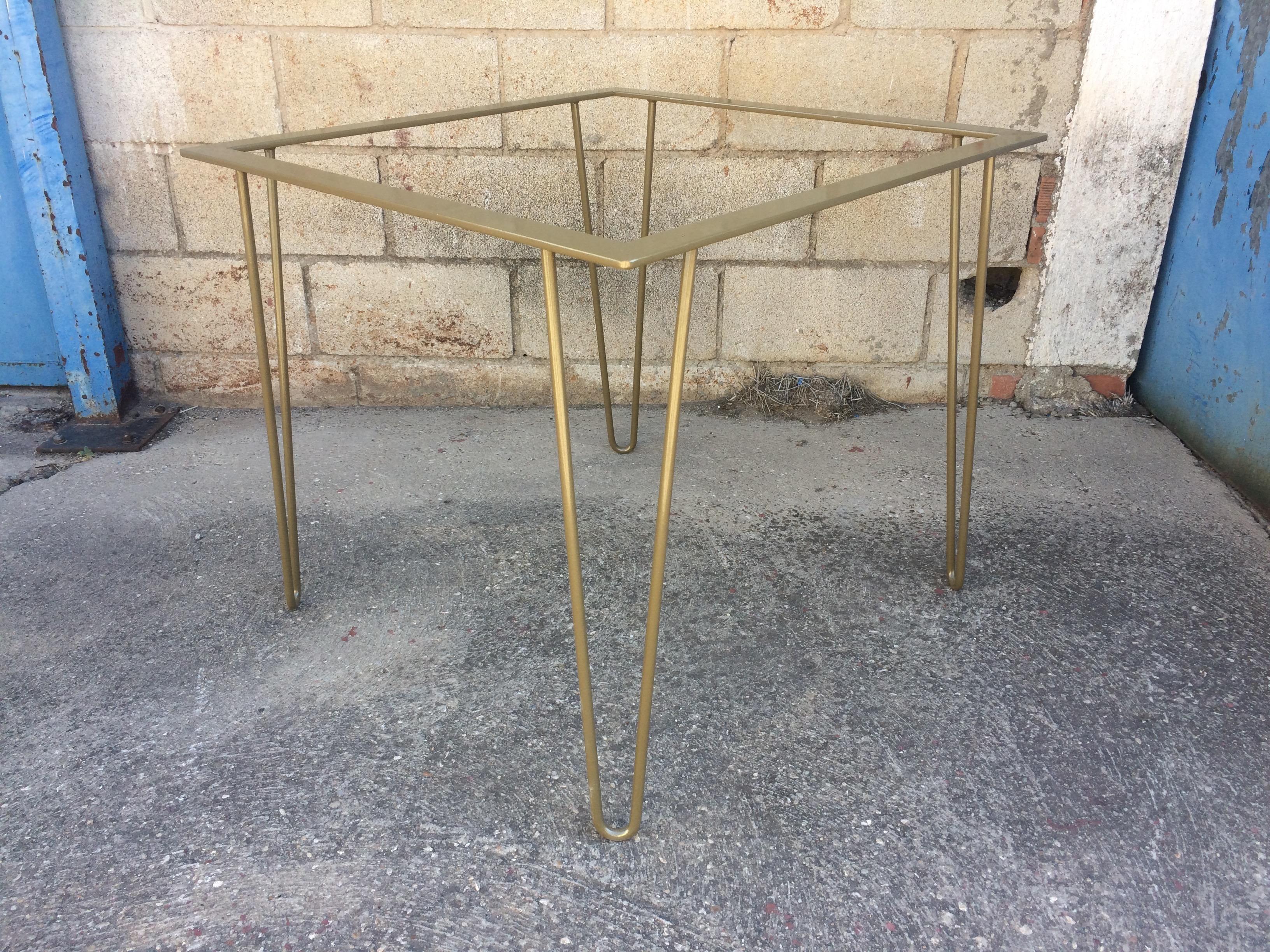 patas robustas con estructura Mobiliario Industrial