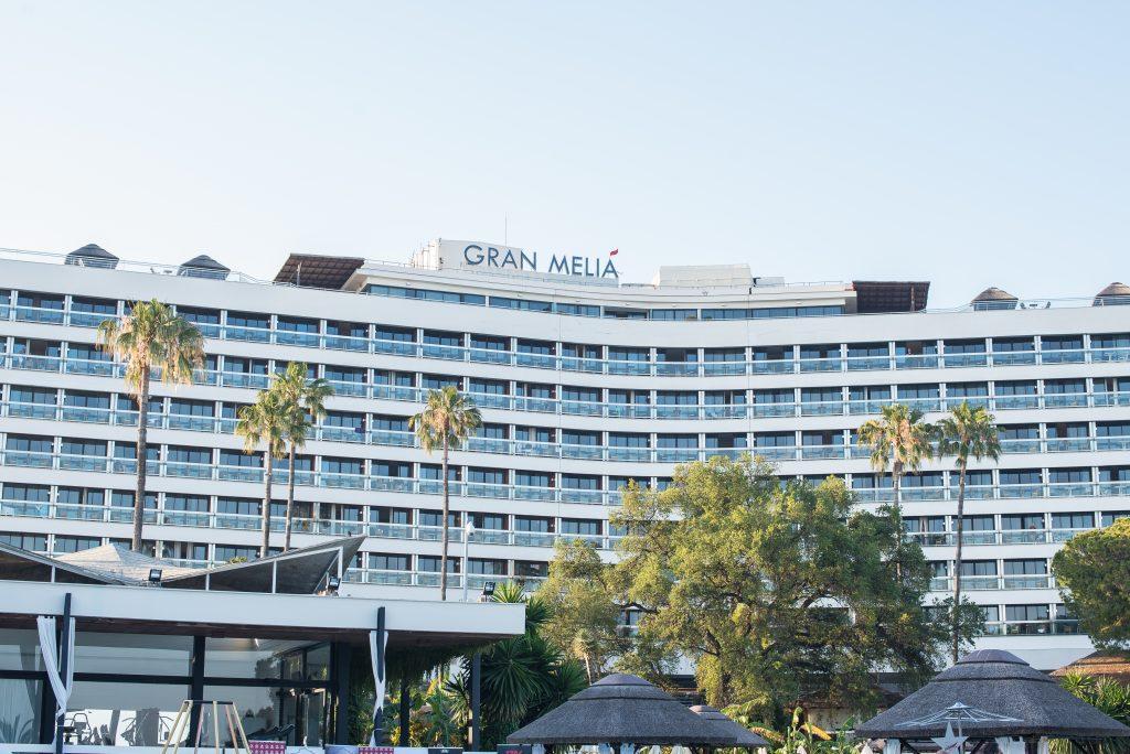 Stand de diseño en el hotel Gran Melia Don Pepe Marbella