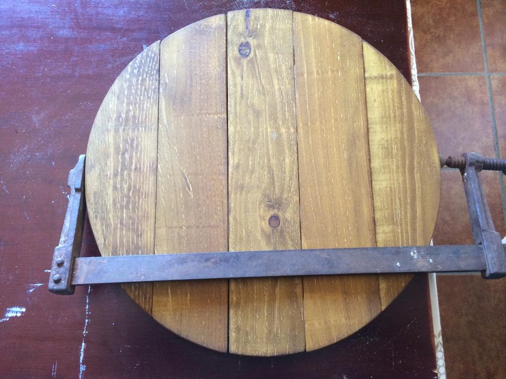 decoración pizzería mesa pequeña
