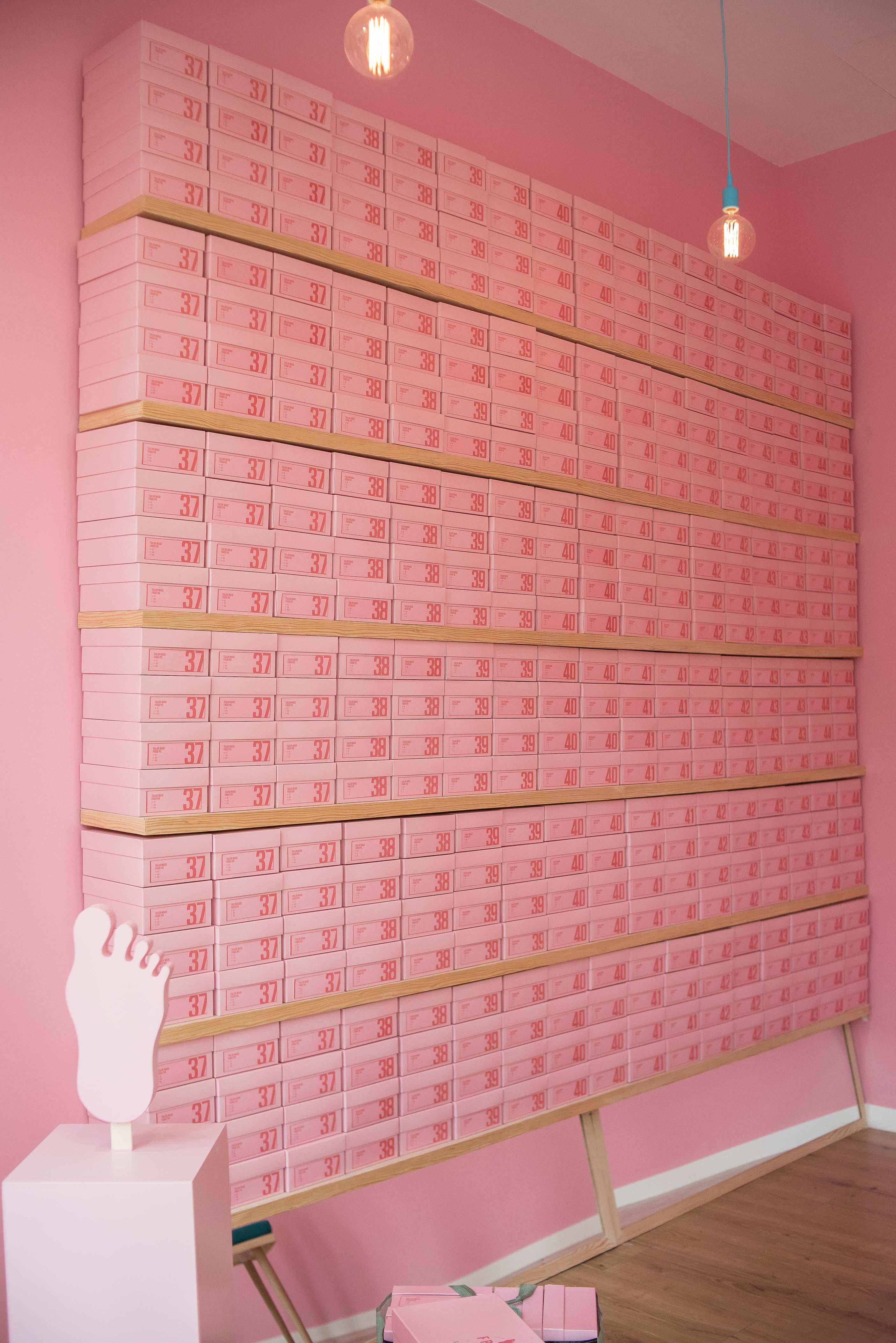 Frigo Pie en cajas de zapatos