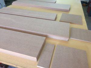 listones de madera para Frigo Pie