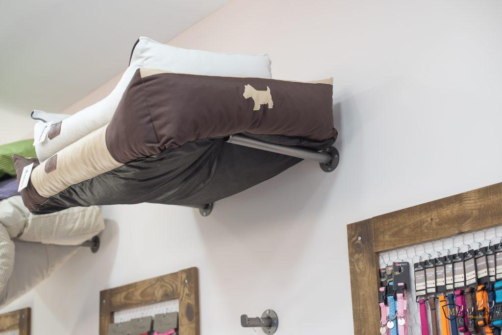 camas decoración mobiliario peluquería canina