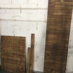 letrero madera envejecida Mobiliario Peluquería Canina