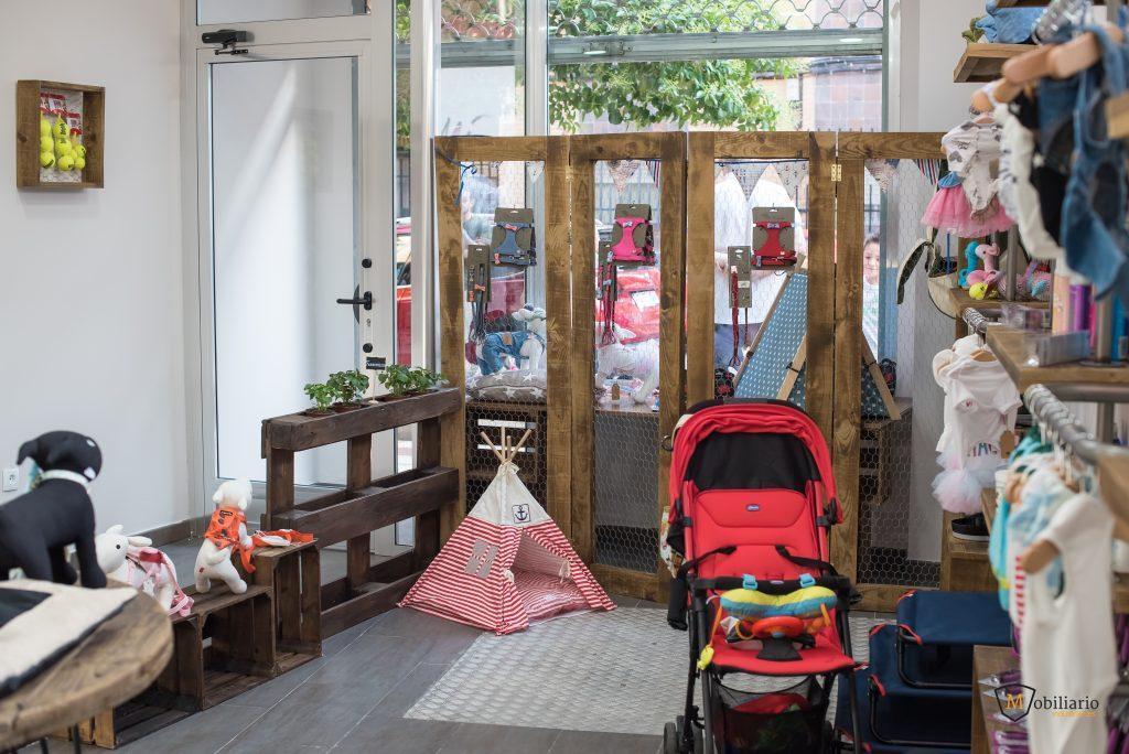 tienda decoración mobiliario peluquería canina