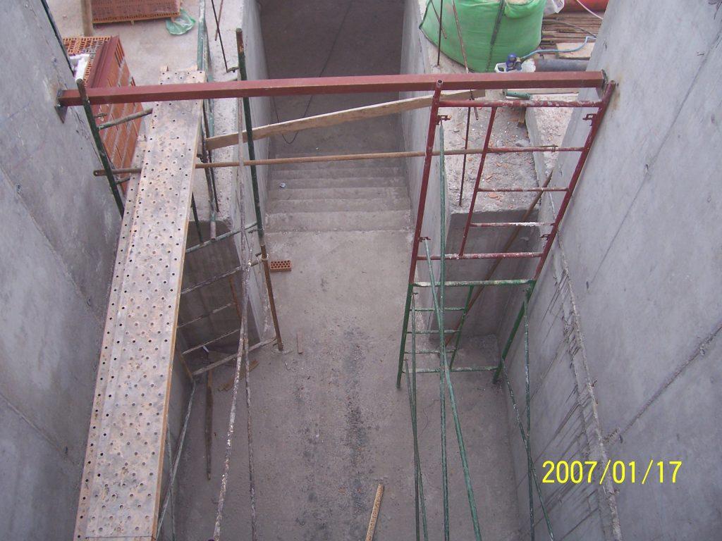 escalera de casa Mobiliario Industrial