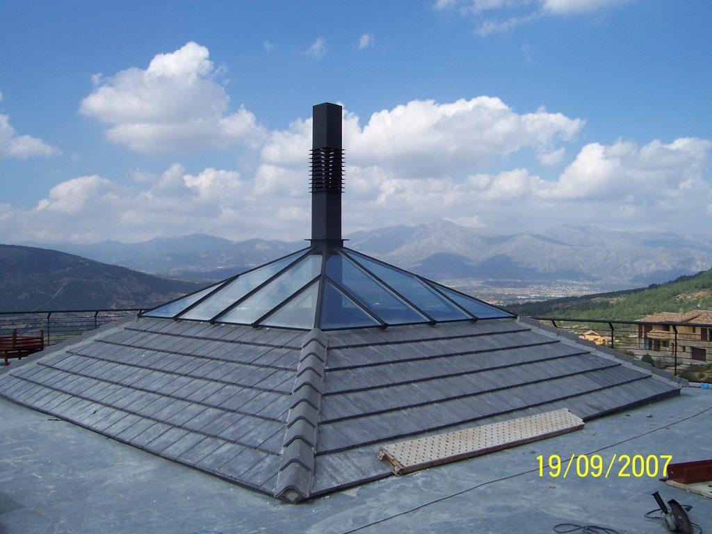 resultado tiro de chimenea termianado de casa por Mobiliario Industrial