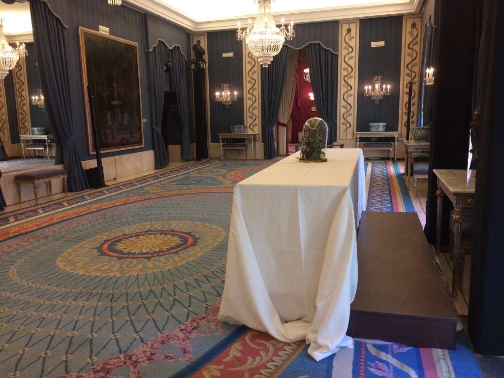 Mobiliario para eventos 150 Aniversario Jamones Joselito