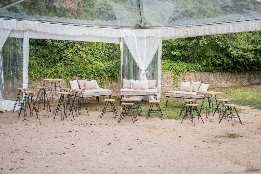 Mobiliario para eventos Chill out para boda
