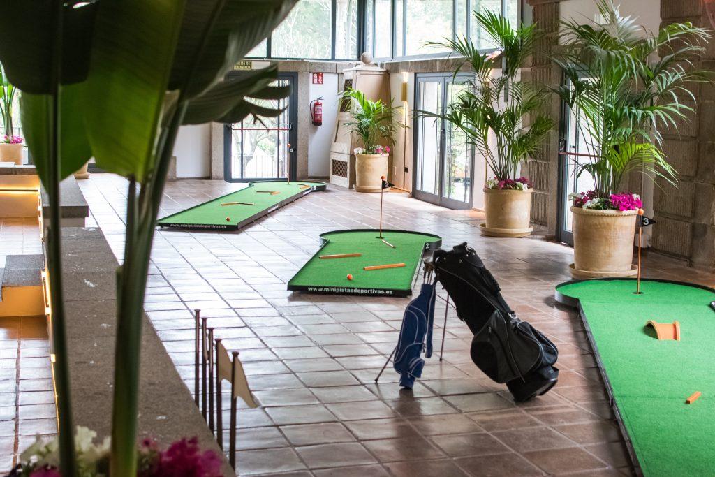 Mobiliario para eventos campo de Golf portátil