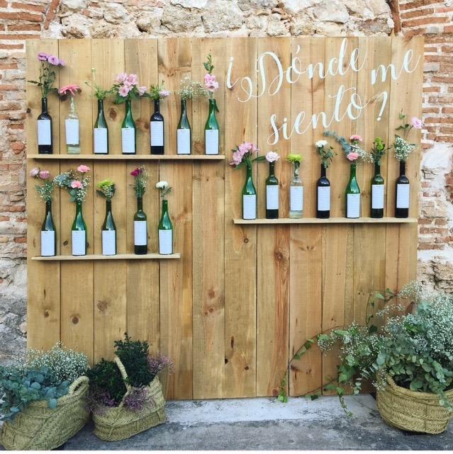 Mobiliario para eventos para bodas