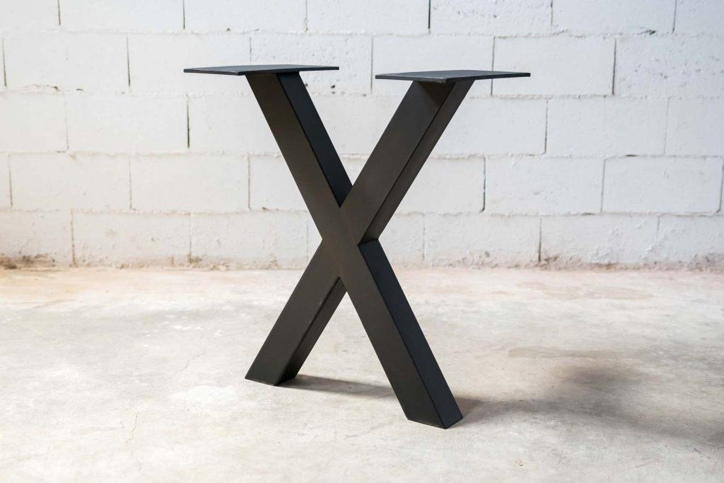 patas metálicas para estructura de mesa