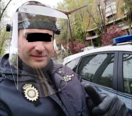 Pantallas Protectoras para la Policía Nacional