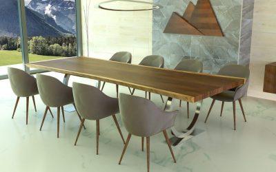 Madera Suar es tendencia en muebles 2021
