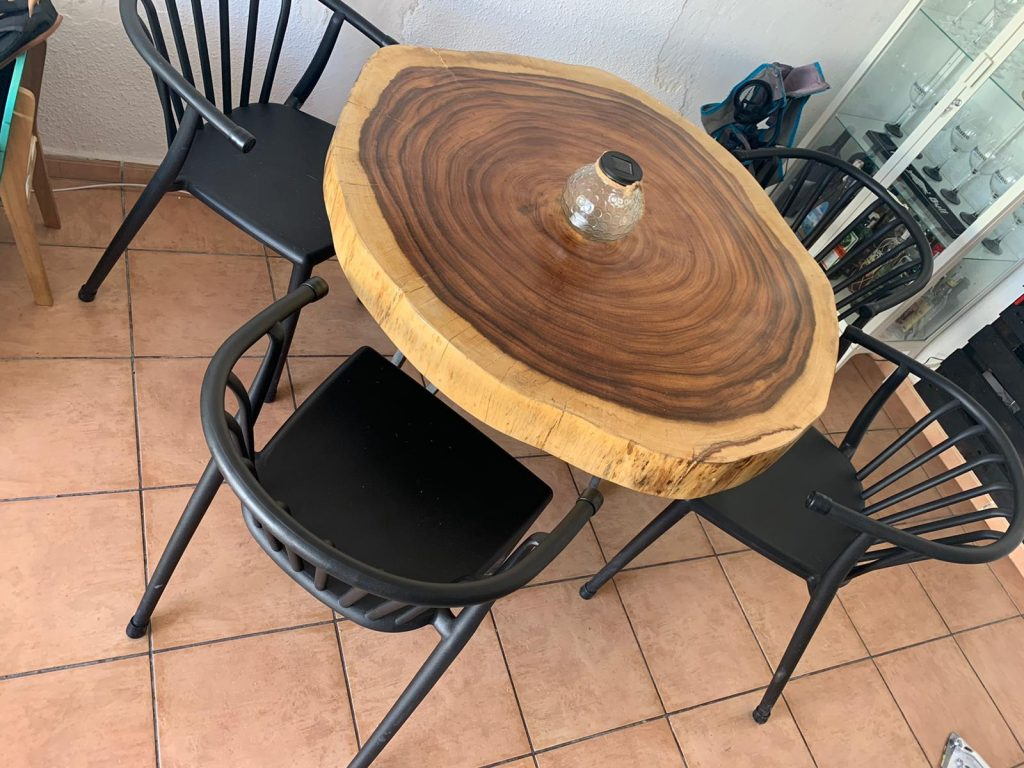 rodaja madera Suar